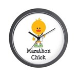 Marathon Chick 26.2 Wall Clock