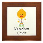 Marathon Chick 26.2 Framed Tile
