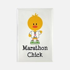 Marathon Chick 26.2 Rectangle Magnet