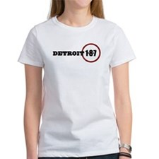 Detroit 1-8-7 Red Tee