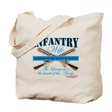 Infantry Wife IN Infantryman Tote Bag