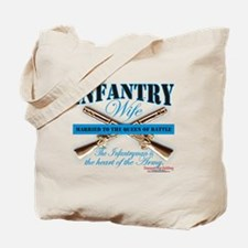 Infantry Wife IN Infantryman Tote Bag