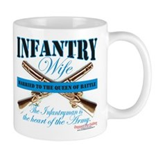 Infantry Wife IN Infantryman Mug