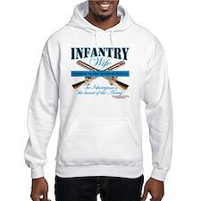 Infantry Wife IN Infantryman Hoodie