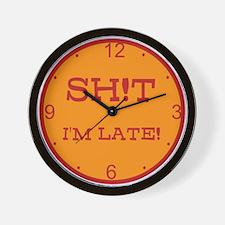 SH!T Wall Clock