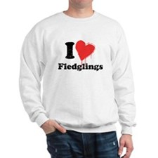 I heart fledglings Jumper