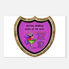 Royal Jewels of the Seas- Postcards (Package of 8)