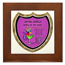 Royal Jewels of the Seas- Framed Tile