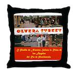 Olvera Street Throw Pillow