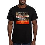 Olvera Street Men's Fitted T-Shirt (dark)