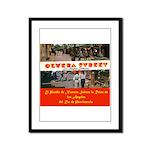 Olvera Street Framed Panel Print