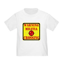 Warning Militia Crossing T