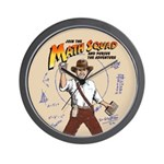 Math Detectives Wall Clock