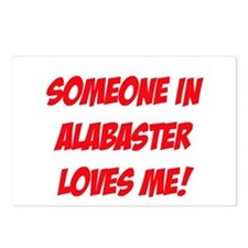 Someone in Alabaster Loves Me! Postcards (Package