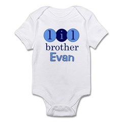 Lil Brother Evan Infant Bodysuit