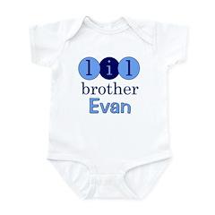 Lil Brother Evan Infant Bodysuit