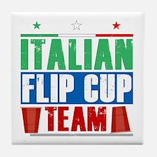 Funny Italian beer Tile Coaster