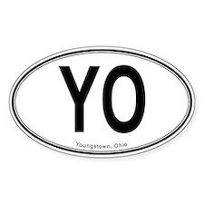 """Youngstown """"YO"""" Decal"""