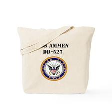 USS AMMEN Tote Bag