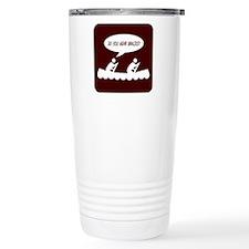 Paddle Faster Travel Coffee Mug