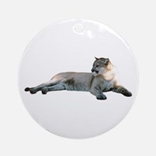 Romeo Home & Office CougarWea Ornament (Round)
