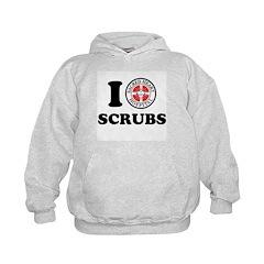 I Love Scrubs Hoodie