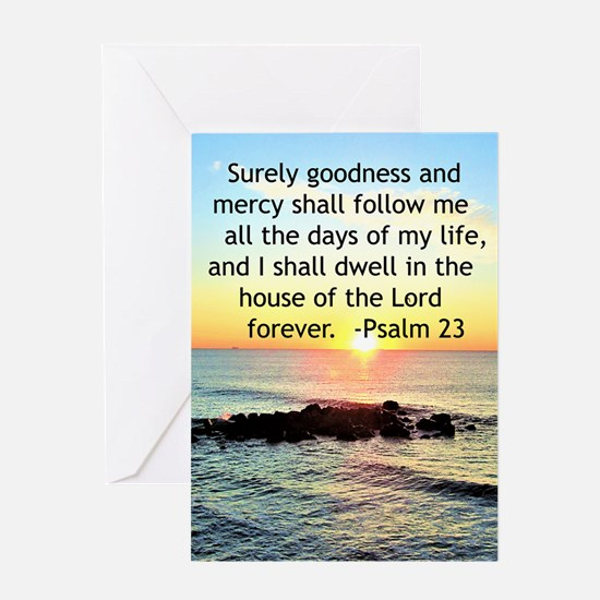 23RD PSALM Greeting Card
