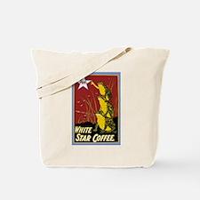 Vintage Frog Coffee Ad Tote Bag