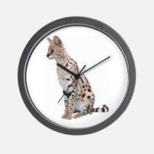 KiaraServal Men's Wear Wall Clock