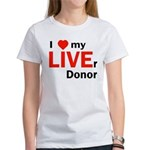 Live Liver Donor Women's T-Shirt