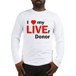 Live Liver Donor Long Sleeve T-Shirt
