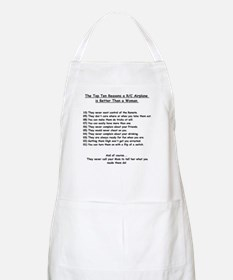 Airplanes are better than Women - BBQ Apron