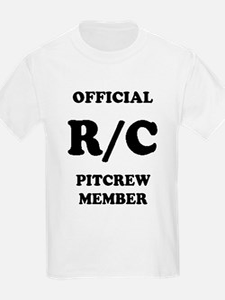"""Official R/C Pitcrew"" - Kids T-Shirt"