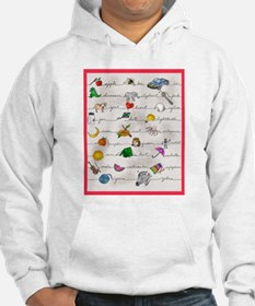 Illustrated Alphabet Hoodie