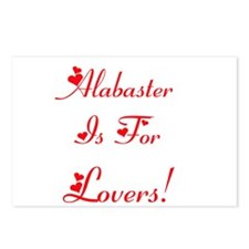Alabaster is for Lovers! Postcards (Package of 8)