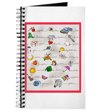 Illustrated Alphabet Journal