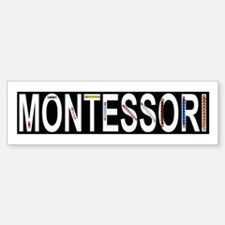 Montessori Math Beads Bumper Bumper Sticker