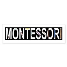 Montessori Math Beads Bumper Sticker