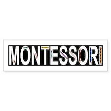 Montessori Math Beads Car Sticker
