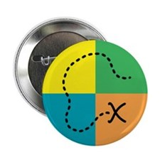 Geocaching Buttons and Magnet Button
