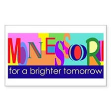 Montessori for a Brighter Tomorrow Decal
