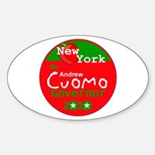 Cuomo 2010 Sticker (Oval)