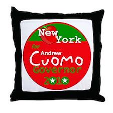 Cuomo 2010 Throw Pillow