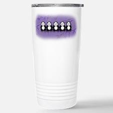 Line of Pandas Stainless Steel Travel Mug