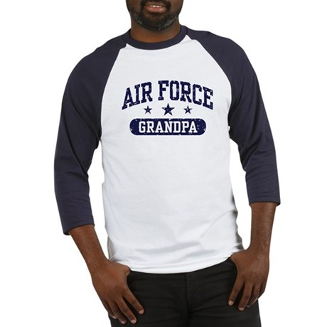 Air Force Grandpa Baseball Jersey