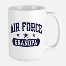 Air Force Grandpa Large Mug