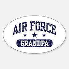 Air Force Grandpa Decal