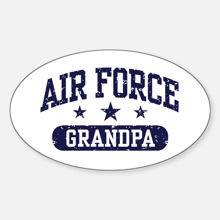 Air Force Grandpa Decal