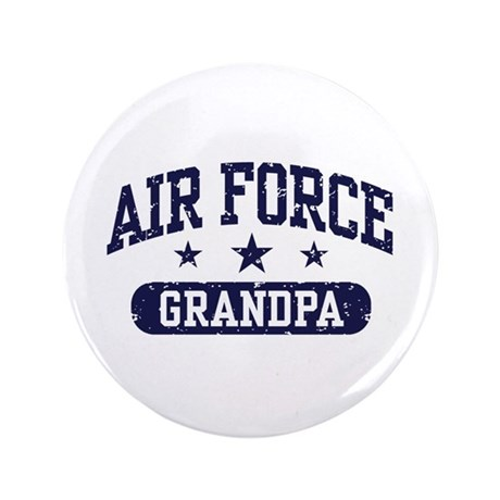 """Air Force Grandpa 3.5"""" Button"""