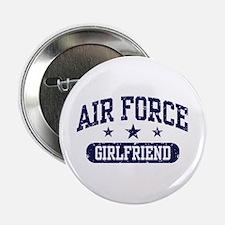 "Air Force Girlfriend 2.25"" Button"
